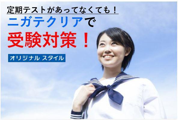 【中三・7月号】定期テストがあってなくても! ニガテクリアで受験対策!(オリジナルスタイル)